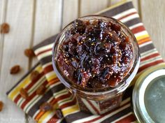 Delicious Fig Chutney. Use fresh or frozen figs. Perfect with white meat or as a spread for sandwiches.