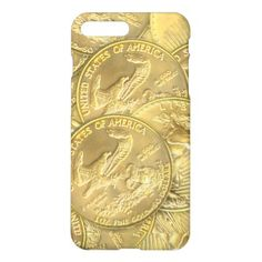 Gold Eagle Coins iPhone Case - luxury gifts unique special diy cyo