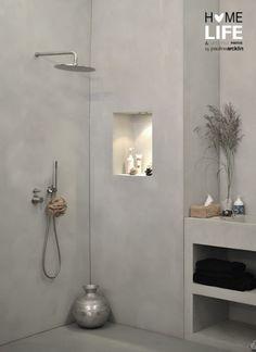 41 Κομψοί τρόποι για να χρησιμοποιήσετε Μπετόν στο μπάνιο σας
