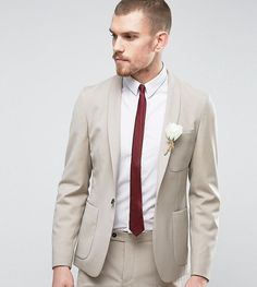 Get this HART HOLLYWOOD's blazer now! Click for more details. Worldwide shipping. Hart Hollywood Skinny Wedding Suit Jacket With Shawl Lapel - Beige: Suit jacket by Hart Hollywood, Wool-mix woven fabric, Contains stretch for comfort, Shawl lapels, Single button opening, Functional pockets, Chest pocket, Skinny fit - cut very closely to the body, Specialist dry clean, 54% Polyester, 44% Wool, 2% Elastane, Our model wears a 40/102 cm and is 188cm/6'2 tall, Exclusive to ASOS. Sticking with his…