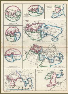 #106 Ancient Greek World Concepts | Cartographic Images