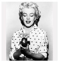 Marilyn Monroe alla CBS