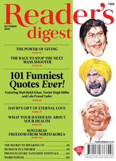 Reader's Digest India - October 2016