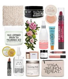 """Earth Day - All Naturals"" by trulyslytherin ❤ liked on Polyvore featuring beauty, Apana, Safavieh, Nearly Natural, Youth To The People, Kopari, Fresh, Smith's, Herbivore and Forever 21"