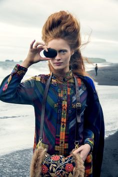 visual optimism; fashion editorials, shows, campaigns & more!: ilva heitmann by elisabeth toll for grazia germany 23rd december 2014