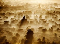 Sunrise in Myanmar. National Geographic photo.