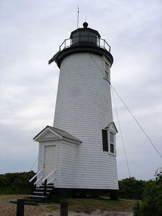 Cape Poge Light in Dukes County, Massachusetts.