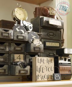 Say something nice: Inspire wood signs and blocks from Collins Painting & Design. See the set at Gift + Home, July 30-Aug. 3. #lvmkt
