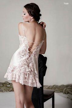 1b43f4474533 Jane Woolrich silk nightdress Satin Sleepwear