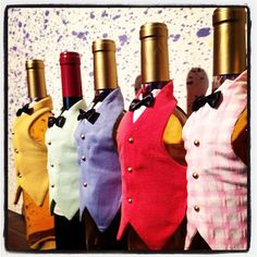 Details about Wine Bottle Apron Chef Set, Christmas Party Wine Decor, Wine Gift Giving Idea Wine Bottle Covers, Wine Bottle Art, Painted Wine Bottles, Painted Wine Glasses, Wine Bottle Crafts, Beer Bottle, Vodka Bottle, Wrapped Wine Bottles, Wine Bottle Centerpieces