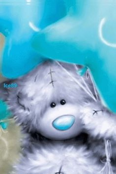Animated Gif by Kevin and Amanda Kennedy Teddy Bear Quotes, Teddy Bear Images, Teddy Bear Pictures, Tatty Teddy, Animiertes Gif, Animated Gif, Cute Images, Cute Pictures, Blue Nose Friends