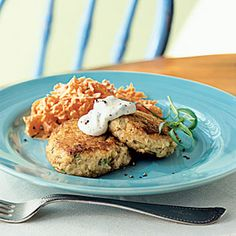 Best Healthy Salmon Recipes | Salmon Croquettes with Rémoulade | CookingLight.com