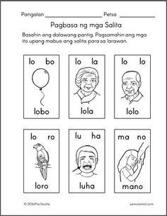 Free printable worksheets for Filipino kids Preschool Charts, Printable Preschool Worksheets, Free Kindergarten Worksheets, 1st Grade Worksheets, Reading Worksheets, Handwriting Worksheets, Kids Worksheets, Cursive Handwriting, Teacher Worksheets
