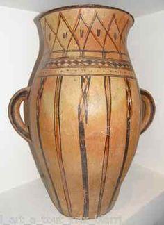 Other Decorative Collectibles Vintage Crock Unique Vase Medusa Greek Mythology On Front Of Pottery Decorative Collectibles