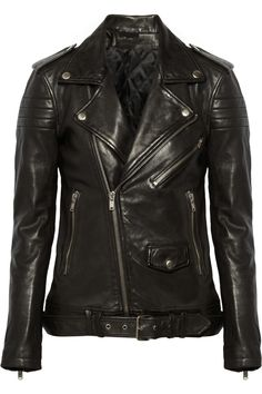 BLK DNM | 8 leather biker jacket | NET-A-PORTER.COM