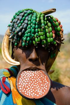 Mursi tribes of East Africa's Omo Valley