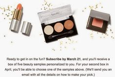 Totally Oblivious Beauty: PSA: Birchbox April 2015 Sample Choice Spoilers!