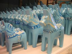 I love blue Dala Horses. They are lovely and add a little bit of Sweden to any…