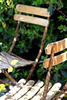 Two Chairs in the Garden . .           One for you ~ One for me :)