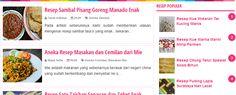 Informasi seputar resep masakan Indonesia.