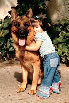 un amore per un cane si vede pure da bambini...