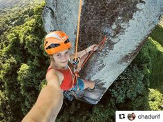 #Repost @chadurif  #selfie from the last bolt of the coolest face of the tower    Yesterday I bolted most of the slightly overhanging virgin arete that's on the right of the picture  it's gonna be a stellar line   @petzl_official @gramicci @eb_climbing @volxholds @luxov_connect #startsomewhere #livefree #petzlteam #petzlgram #accesstheinaccessible #PiedraBlanca #tower #climbing #escalade #outdoor #teamEB #eb #athlete