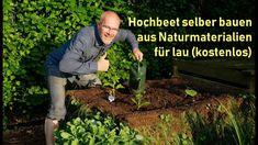 Hochbeet selber bauen / kostenlos aus Naturmaterialien / Permakultur