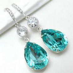 tiffany blue cheap earrings - Google Search