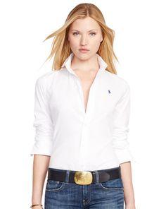 Slim-Fit Poplin Shirt - Polo Ralph Lauren Shirts & Blouses - RalphLauren.com