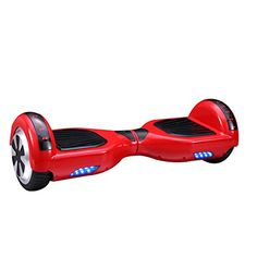 "CXINWALK 6.5"" Self Balancing Scooter Hoverboard UL2272 Certified, Dual Motor, with Bluetooth Speaker and LED Light (Red) - Specification: Age Group: Adult, Teen Age Range: 13 years and up Distance per charge(km): around 7.5miles (depends on rider's weight, road conditions etc) Maximum Speed: 6.2 mile/h, (10km/hr) Maximum climbing angle: 15 degrees Maximum Load :440 lb Charging Power: 90 to 240V Charging Temperature :..."