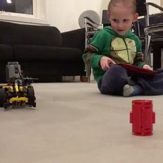 It is always great to see when the younger generations are playing with the SBrick. Our aim was to teach children that there is a balance between the IT and physical world.  #lego #legotechnic #technic #legocar #legostragam  #tablet #android #IOS #windows #programming #learning #children #computing #swiftplaygrounds #smart_brick #smartbrick #sbrickplus #kid #child #fun #play #coding #mobile #scratch #javascript #application #startup #technology #innovation #sbrick