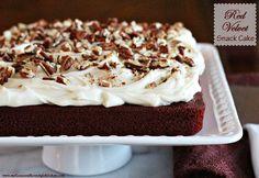 Melissa's Southern Style Kitchen: Red Velvet Snack Cake