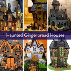 Eye Candy: Haunted Gingerbread Houses to Inspire or Make