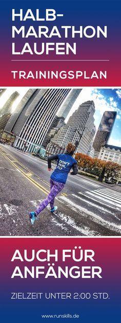 Der Traum vom Halbmarathon unter 2 Stunden. Diese magische Grenzen ist das Ziel vieler Läufer. Mit diesem Trainingsplan schaffst du es innerhalb von 14 Wochen zum Halbmarathon-Finish. #halbmarathon #laufen