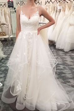 White wedding dress. Brides dream about finding the most suitable wedding ceremony, but for this they require the ideal wedding dress, with the bridesmaid's outfits complimenting the wedding brides dress. Here are a variety of suggestions on wedding dresses.