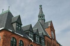 Hidden New Jersey - the old CNJ Railroad Terminal at Liberty State Park in Jersey City.