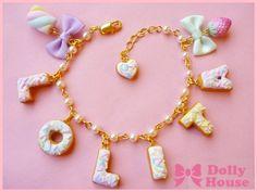 Lolita Sweets Bracelet by Dolly House vol 2.. $23,80, via Etsy.