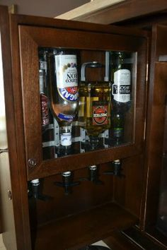 Hard Rock Hotel & Casino Punta Cana: liquor dispensers