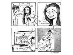 C. Cassandra comics :: Tough Work-out | Tapastic Comics - image 1