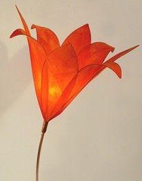 beautiful handmade paper lampshades. Love this site