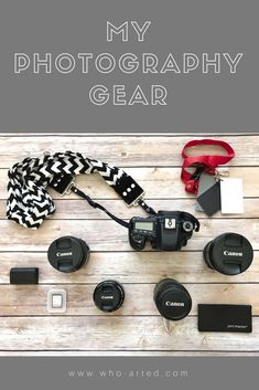 """""""What kind camera do you use?"""" It's the question I get asked most often. While I do own a nice mid-range camera, it's not something that c… Kinds Of Camera, Photography Gear, Camera Gear, Gears, Photo Ideas, Website, Bag, Photos, Inspiration"""