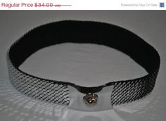BLACK FRIDAY SALE Whiting and Davis Womens Snake by vintagefinds61