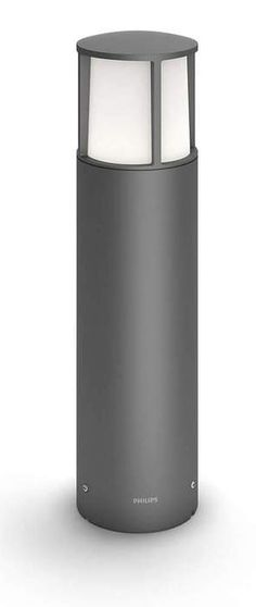 Philips myGarden Stock LED pullert mini, antrasitt - Utebelysning pullert. Fra Philips