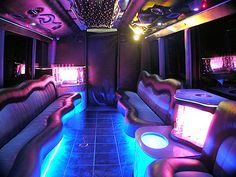 always wanted to have a bunch of friends get crazy in a party bus... with a pole!