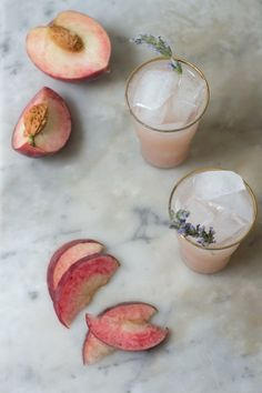 Sip on this White Peach Maple Soda.