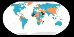Paises bicamerales (azul)