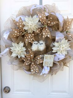 Hey, I found this really awesome Etsy listing at https://www.etsy.com/listing/461099080/burlap-christmas-wreath-winter-wreath
