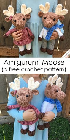 Mesmerizing Crochet an Amigurumi Rabbit Ideas. Lovely Crochet an Amigurumi Rabbit Ideas. Crochet Animal Amigurumi, Crochet Amigurumi Free Patterns, Crochet Animal Patterns, Stuffed Animal Patterns, Crochet Animals, Crochet Dolls, Knit Crochet, Amigurumi Doll, Crotchet