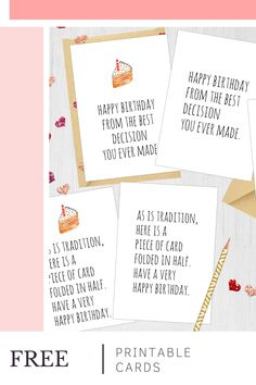 Want These FREE Printable Birthday Cards? Subscribe and get these digital download birthday cards from Studio Melitta store! 🖤 You can unsubscribe anytime. #freeprintables #freeprintablecards Digital Birthday Cards, Free Printable Birthday Cards, Birthday Cards For Him, Happy Birthday Fun, Birthday Gifts For Best Friend, Funny Birthday Cards, Best Friend Gifts, Free Printables, Greeting Cards