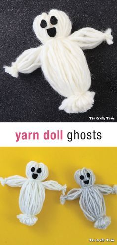 Yarn doll ghosts